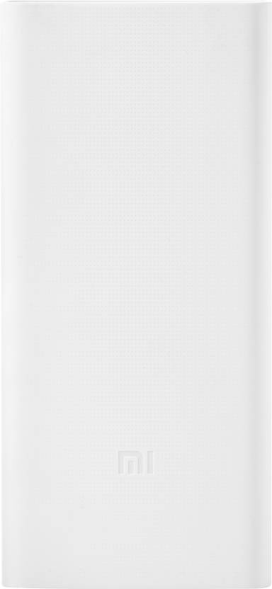 Mi 20000 mAh Power Bank  PLM06ZM, 2i    White, Lithium Polymer  Mi Power Banks