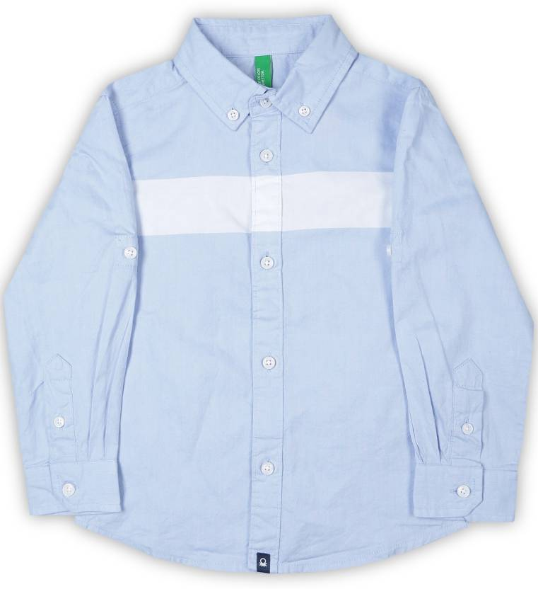 6b19a4790 United Colors of Benetton Baby Boys Solid Casual Light Blue Shirt - Buy Blue  United Colors of Benetton Baby Boys Solid Casual Light Blue Shirt Online at  ...