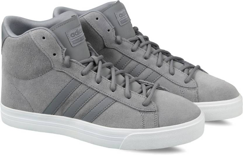 sports shoes af118 01a85 ADIDAS NEO CF SUPER DAILY MID Sneakers For Men (Grey)
