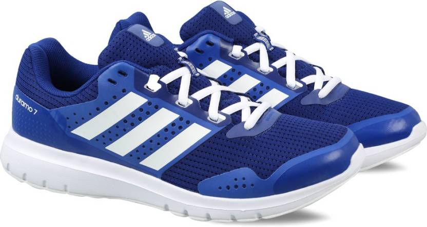 newest 23bfb 6e4c3 ADIDAS DURAMO 7 M Running Shoes For Men (Blue)