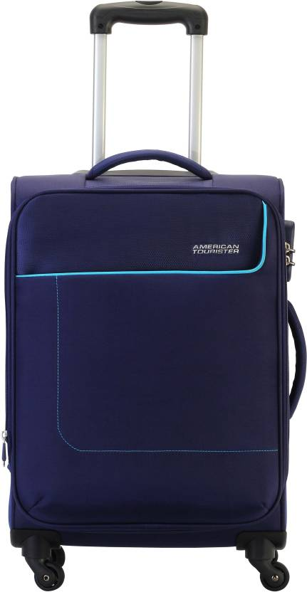 American Tourister Jamaica Expandable Check-in Luggage - 26 inch (Blue) b3bc5f8c2