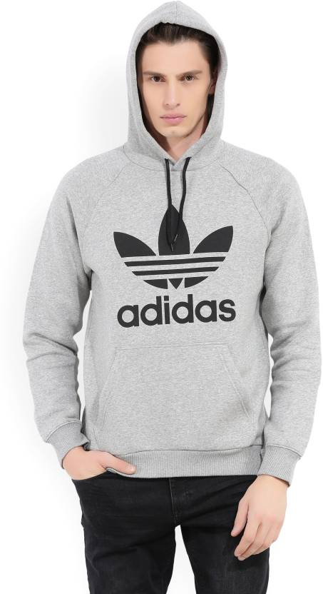 9d19c94bf08 ADIDAS ORIGINALS Full Sleeve Printed Men s Sweatshirt - Buy Grey ADIDAS  ORIGINALS Full Sleeve Printed Men s Sweatshirt Online at Best Prices in  India ...