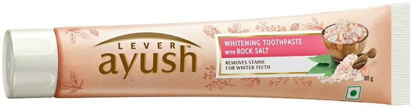Lever Ayush Rock Salt Whitening Toothpaste Buy Baby Care Products