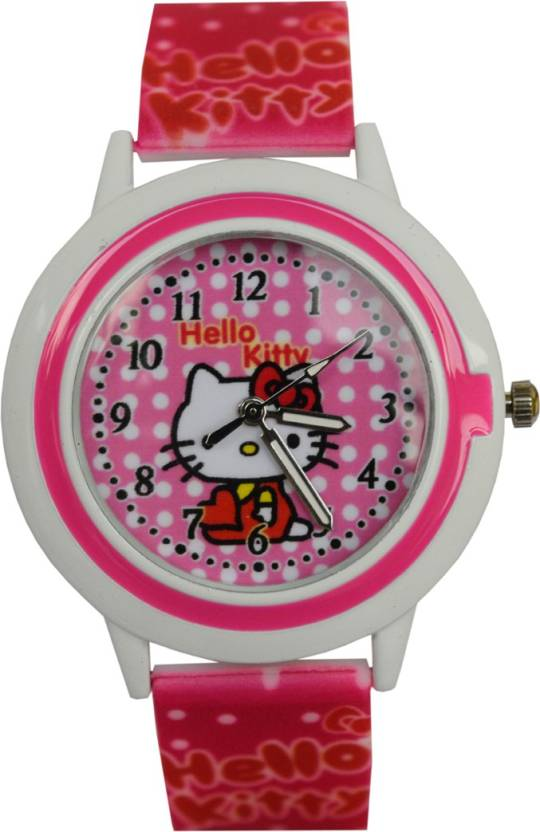 VITREND TM Hello Kitty New Round Dial 001 Ana Long Birthday Gifts Watch