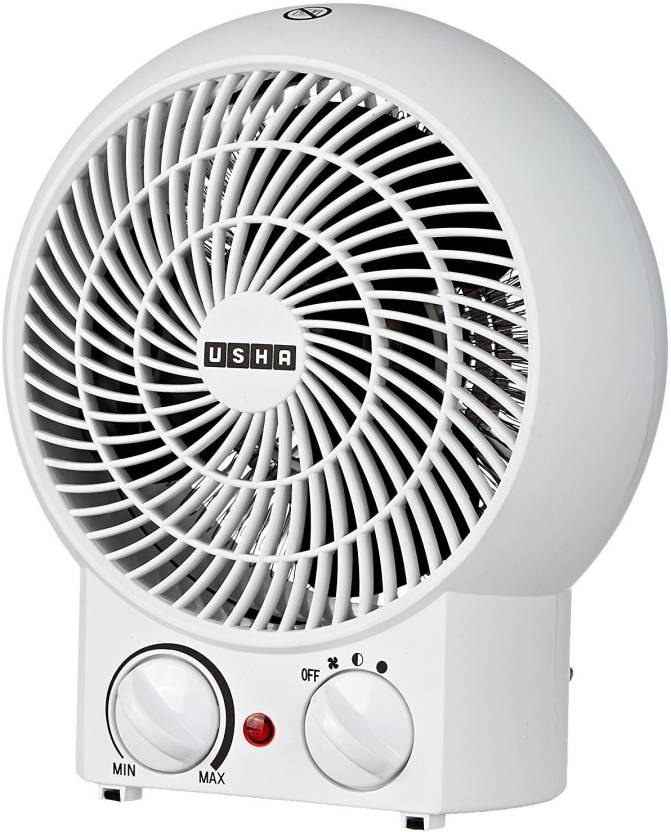 Usha 3620 White Fan Room Heater