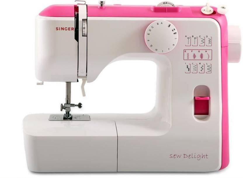 Singer SEW DELIGHT SEWING MACHINE PINK Electric Sewing Machine Price Amazing Sewing Machine Price Flipkart