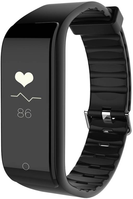 Riversong Wave Fit Fitness Tracker with Dynamic Heart Rate Monitor  (Black)