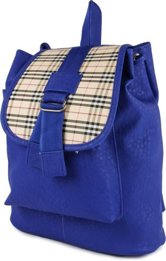 f70fcc961659 DAMDAM Stylish Girls School bag College Bag 5 L Backpack BLUE ...