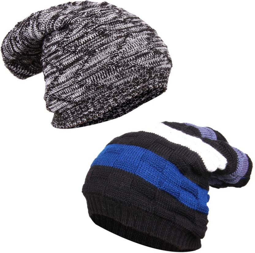 101eab87b4d Knotyy Solid Beanie Cap - Buy Knotyy Solid Beanie Cap Online at Best Prices  in India