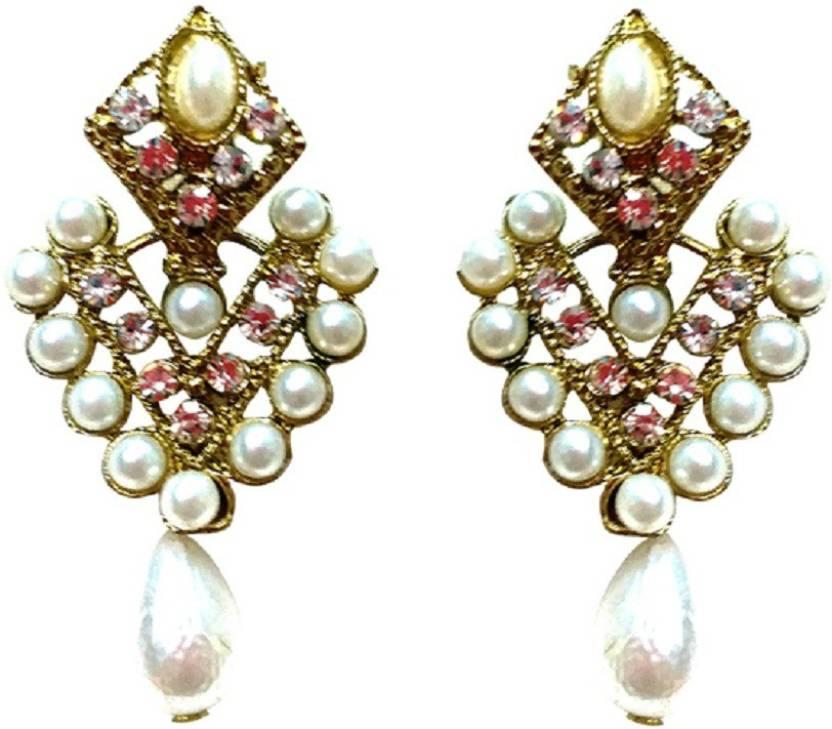 Flipkart.com - Buy Garvik Beautiful Designer Fashion White Pearl ...