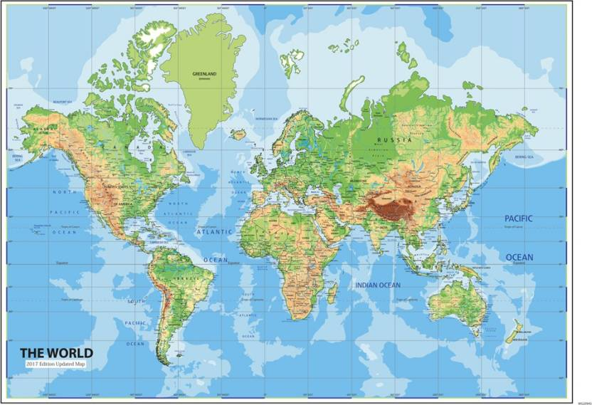 World map peel and stick wallpaper 48 x 72 inch paper print world map peel and stick wallpaper 48 x 72 inch paper print gumiabroncs Image collections