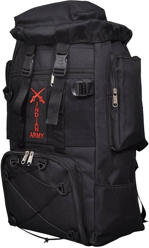Kouzi Tracking Bag Travelling Bag Hiking Backpack Rucksack(Black) Rucksack  - 75 L (Black) 99e1fded5f75c