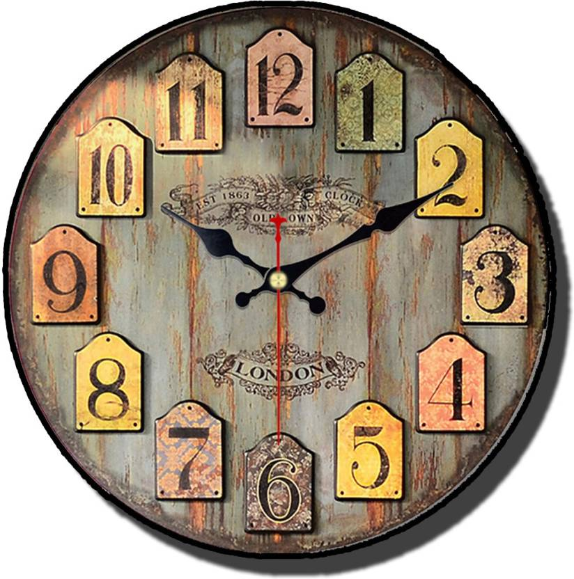 Antique Wall Clock Analog Wall Clock Price In India Buy Antique