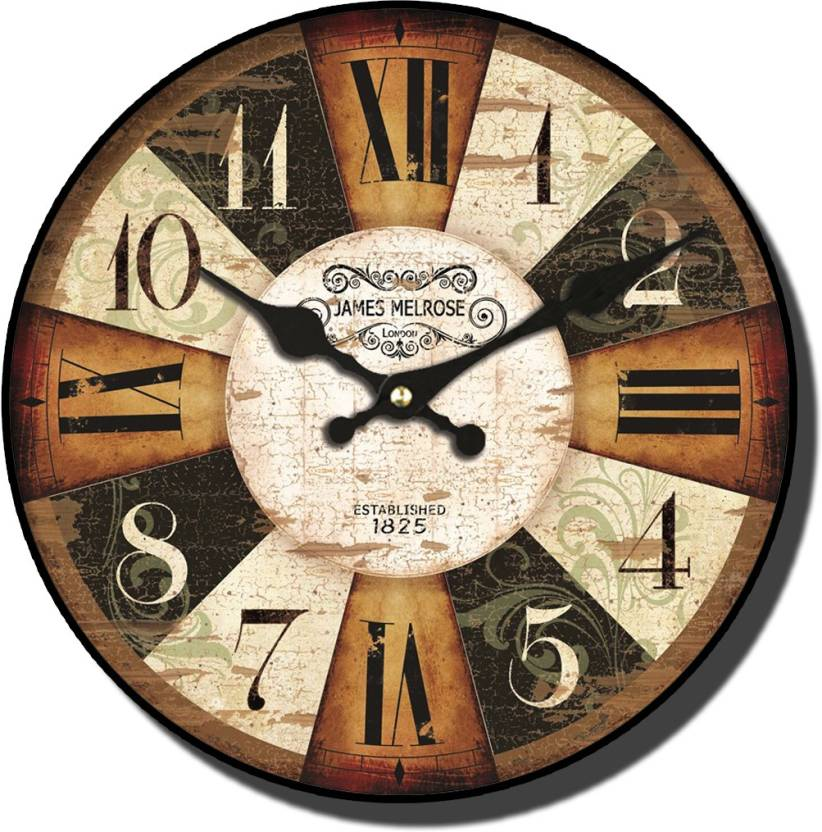 vintage clock analog wall clock price in india