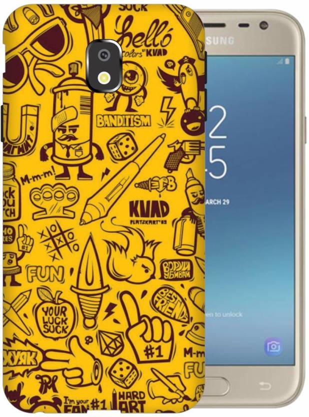 Via Flowers Llp Back Cover for Samsung Galaxy J3 (2017