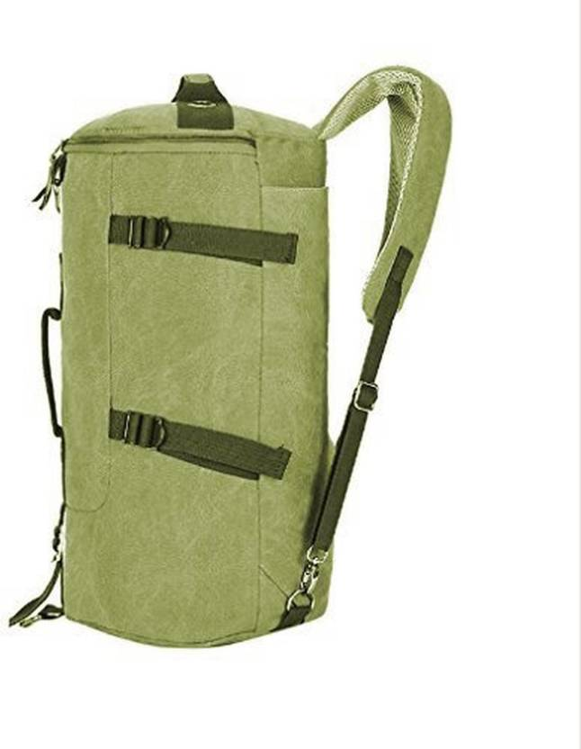 Styleys (Expandable) Travel Duffle Bag Unisex Gym Bag Canvas Sling Bags  (Green) Travel Duffel Bag (Green) 6e986baf984
