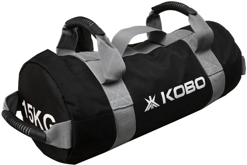 Kobo 15 Kg Sandbag Adjule Weight Training Filled Fitness Cross Functional Exercise Running Workout Sand
