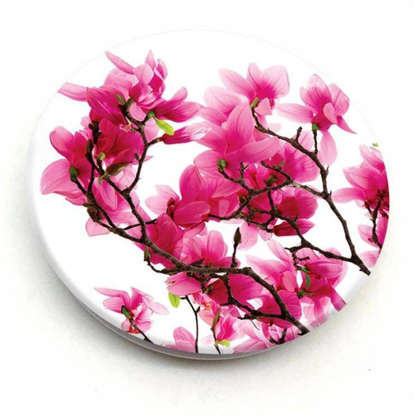 Crazyink Pink Magnolia Flower Mobile Holder Price In India Buy