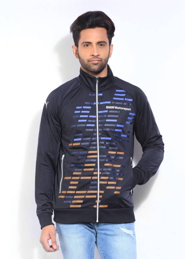 8f35b38e6b6e Puma Full Sleeve Printed Men s Sports Jacket - Buy Team Blue Puma Full  Sleeve Printed Men s Sports Jacket Online at Best Prices in India