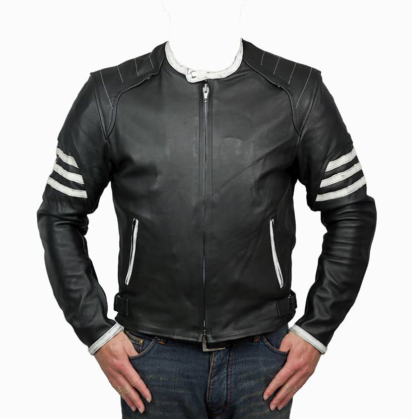4f2cfc313 Warshi Leather Full Sleeve Solid Men's Pure Leather Jacket - Buy ...