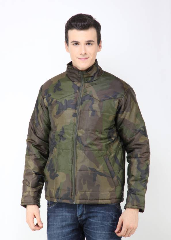 6171605f6bb0d Dazzgear Full Sleeve Solid Men's Quilted Jacket - Buy Army Print Dazzgear  Full Sleeve Solid Men's Quilted Jacket Online at Best Prices in India |  Flipkart. ...