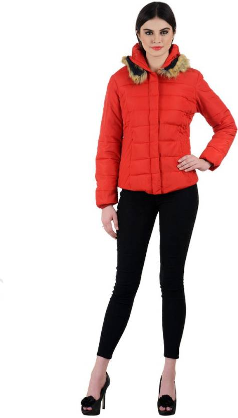 05e6715f5c6 Madame Royale Full Sleeve Solid Women s Jacket - Buy Blood Red Madame  Royale Full Sleeve Solid Women s Jacket Online at Best Prices in India