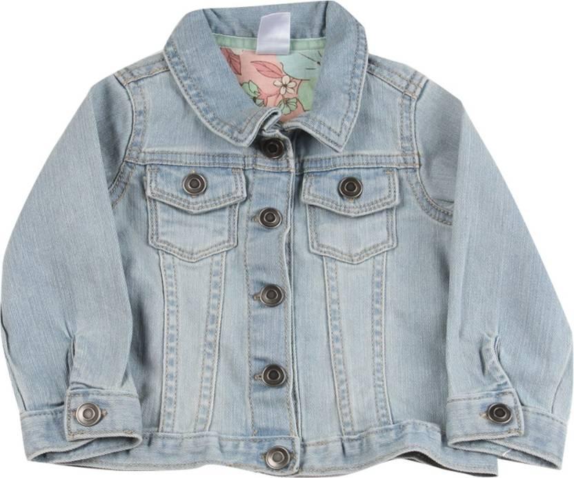 957c04c21cd3 Carter s Full Sleeve Solid Baby Girls jackets - Buy Denim (463 ...
