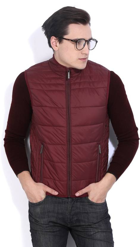 Upto 60% Off On Sleeveless Jackets By Flipkart | Fort Collins Sleeveless Solid Mens Quilted Jacket @ Rs.639