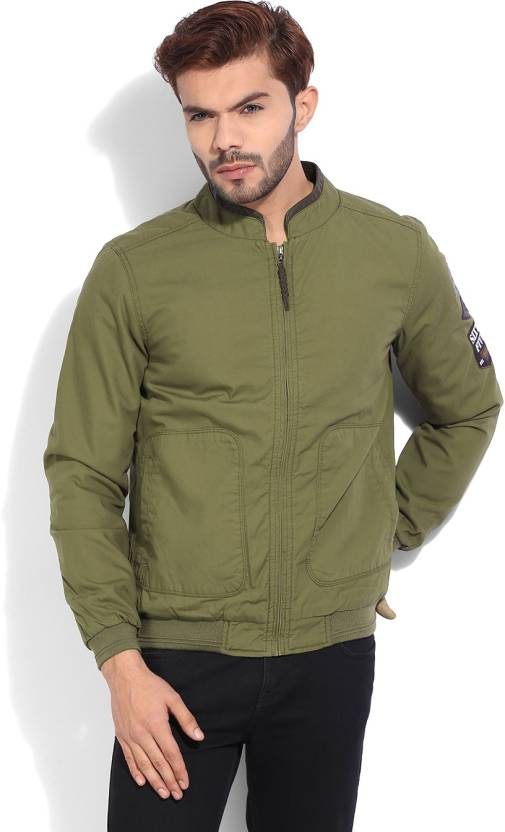 170755556 United Colors of Benetton Full Sleeve Solid Men s Jacket - Buy A58 ...