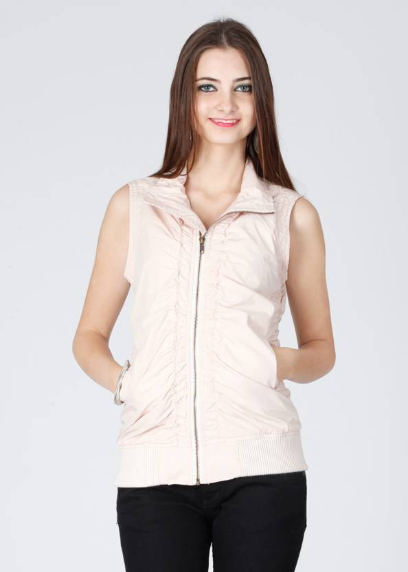 Wills Lifestyle Sleeveless Solid Women's Jacket