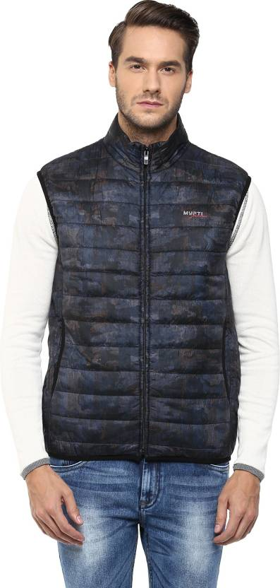 346d6beec28c5 Mufti Sleeveless Solid Men s Jacket - Buy 18-GREY Mufti Sleeveless Solid Men s  Jacket Online at Best Prices in India