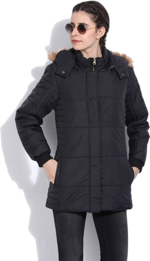 23ee7deb8 Fort Collins Full Sleeve Solid Women's Puffer Jacket