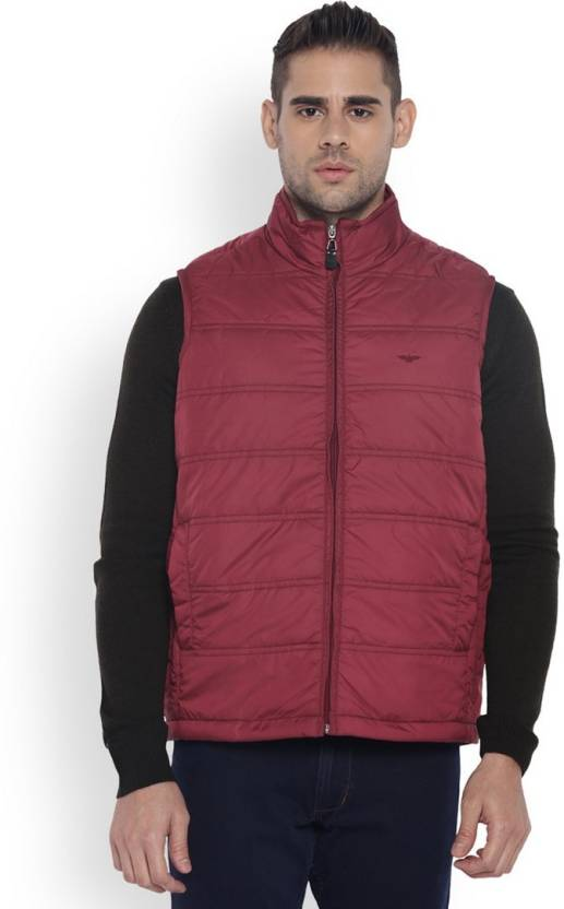 2e00ac502 Park Avenue Sleeveless Solid Men's Jacket - Buy Red Park Avenue ...