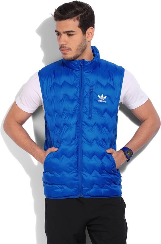 Adidas Senza Maniche Solidi Uomini Giacca Imbottita Comprare Blu Adidas