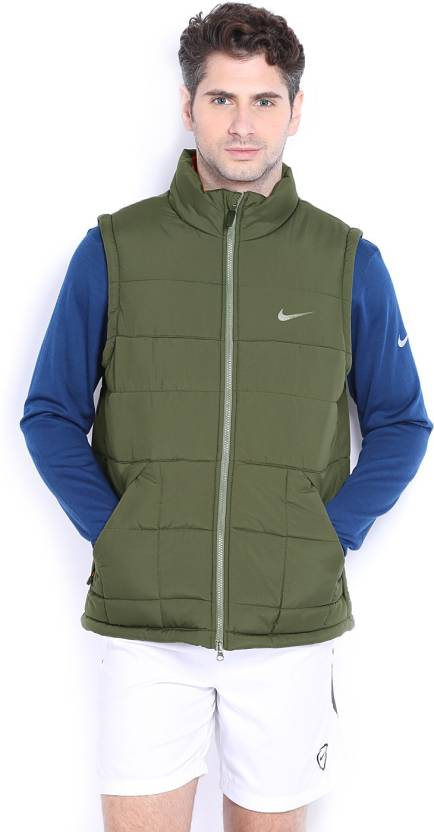 163bbb21a4dfb Nike Sleeveless Solid Men s Quilted Jacket