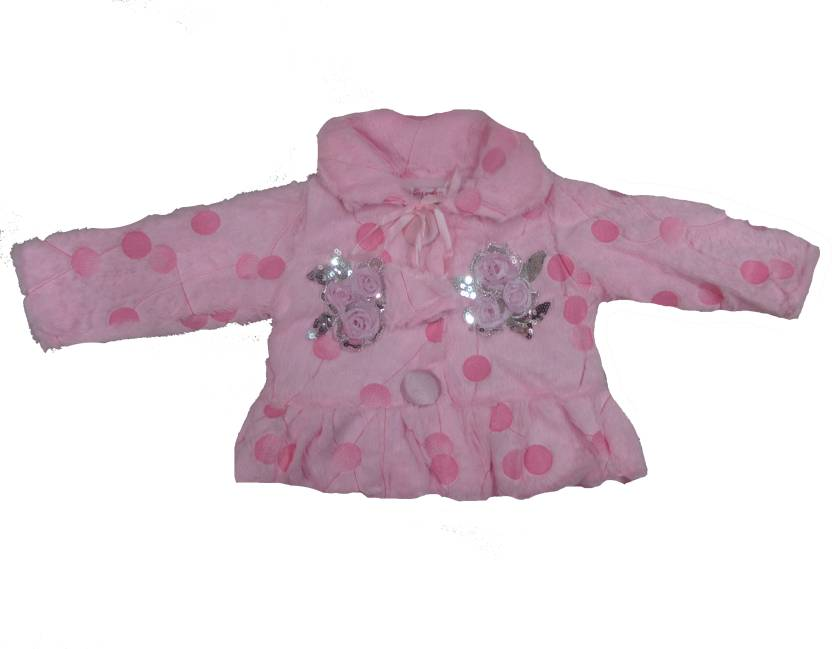 3e8677ce810 Dear Daughter Full Sleeve Polka Print Baby Girls Jacket - Buy Pink Dear  Daughter Full Sleeve Polka Print Baby Girls Jacket Online at Best Prices in  India ...