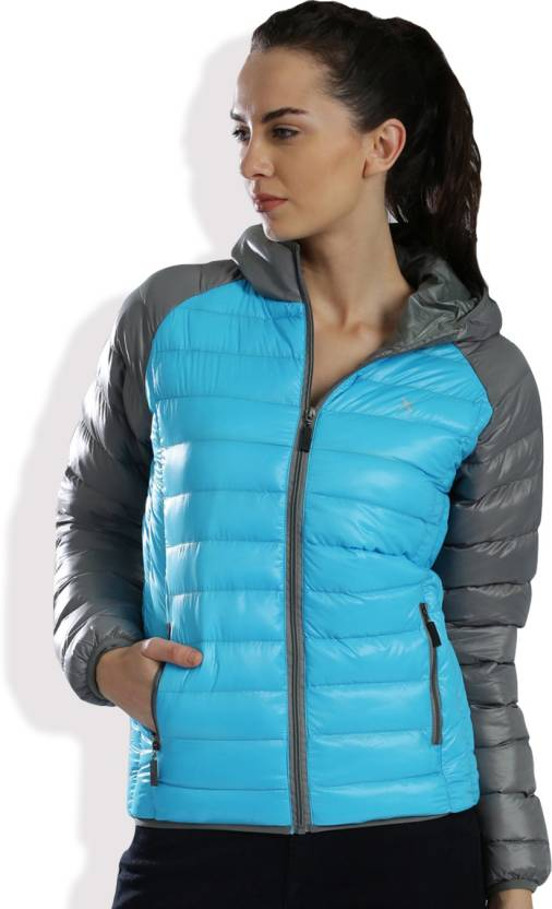 HRX by Hrithik Roshan Full Sleeves Solid Women's Jacket