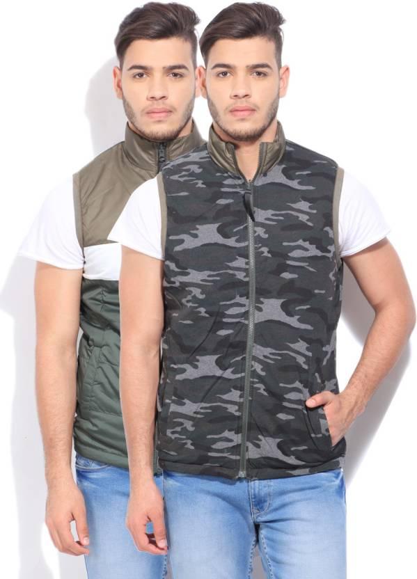 Pepe Jeans Sleeveless Striped Men's Jacket