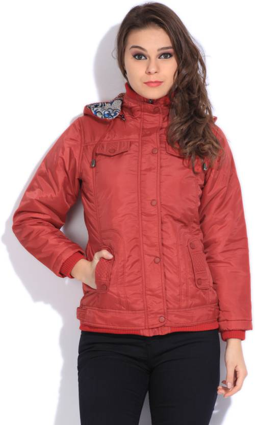 Duke Full Sleeve Solid Women s Jacket - Buy Red Duke Full Sleeve Solid Women s  Jacket Online at Best Prices in India  e4e3c85c4