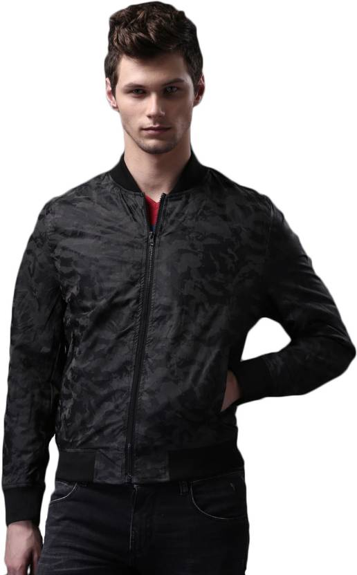 4cd90193e11262 WROGN Full Sleeve Printed Men s Jacket - Buy WROGN Full Sleeve Printed  Men s Jacket Online at Best Prices in India