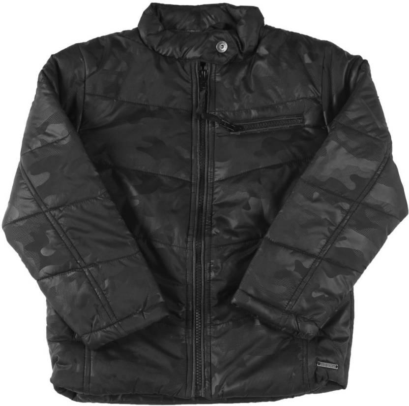 934e1903f Gini   Jony Full Sleeve Striped Boys jacket - Buy Grey Gini   Jony ...