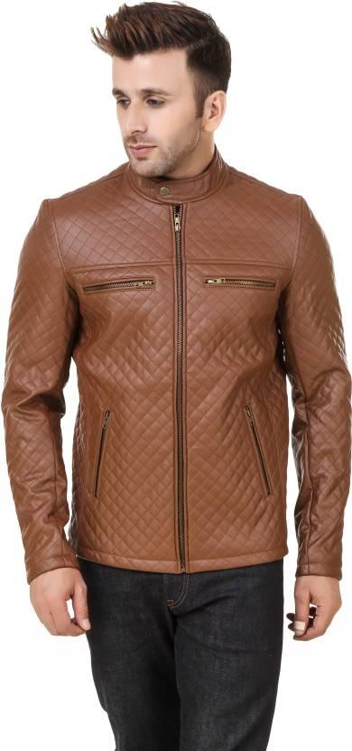 Shemrock Full Sleeve Solid Men S Jacket Buy Tan Brown Shemrock