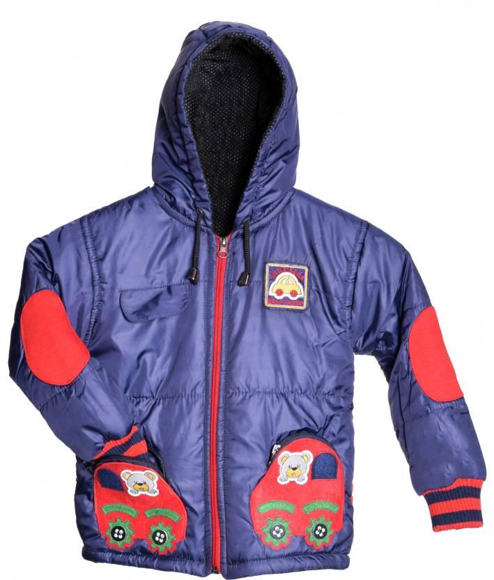 08fc7b6570c1 Come In Kids Full Sleeve Solid Baby Boys Jacket - Buy Dark Blue