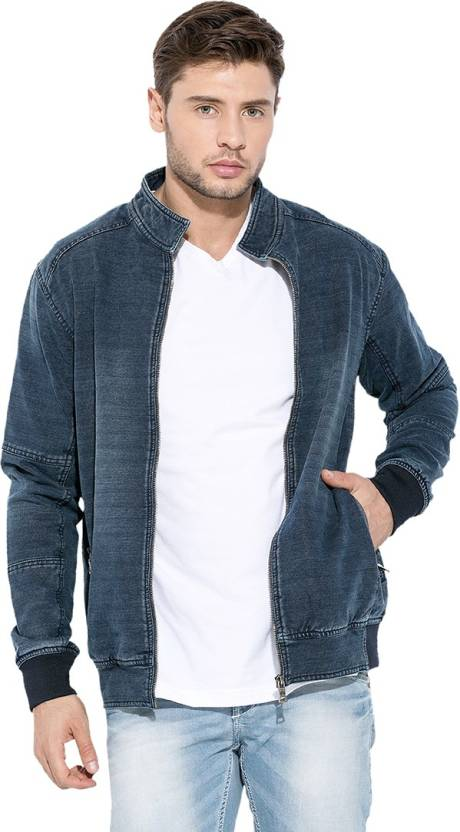 38d6ac455ed Mufti Full Sleeve Solid Men s Denim Jacket - Buy Indigo Mufti Full Sleeve  Solid Men s Denim Jacket Online at Best Prices in India