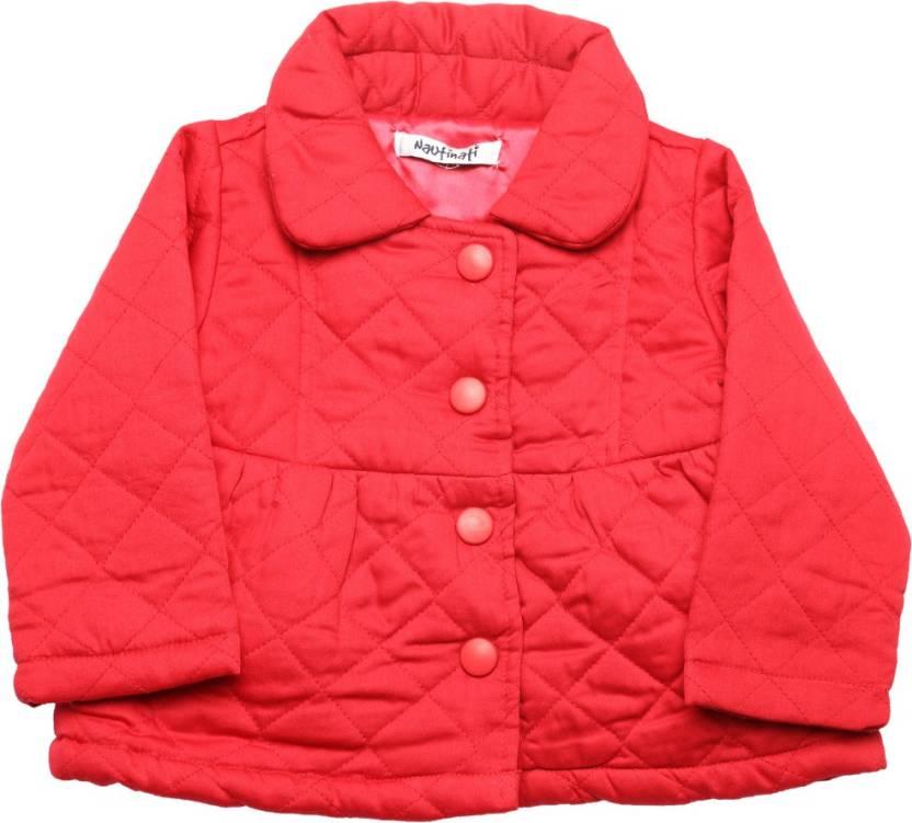 2b47f96aa44c Nauti Nati Baby Girls Jacket - Buy RED Nauti Nati Baby Girls Jacket ...