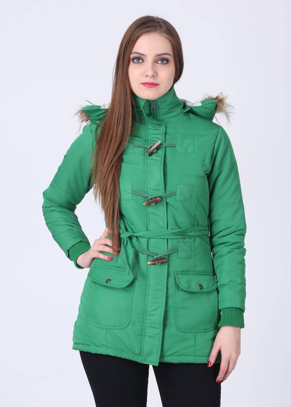 Duke Full Sleeve Solid Women's Quilted Jacket