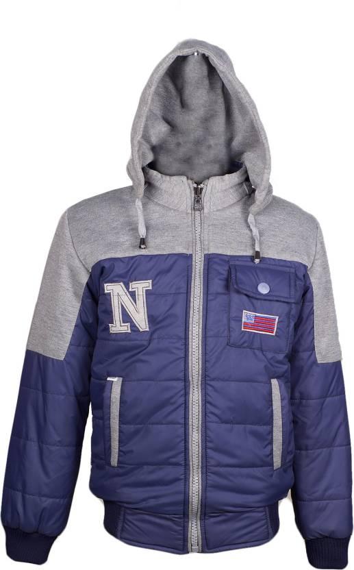 Naughty Ninos Full Sleeve Self Design Boys & Girls Jacket