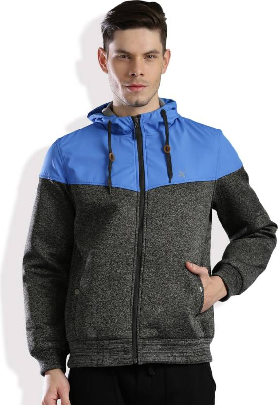 8c29674b7 HRX by Hrithik Roshan Full Sleeve Solid Men's Jacket
