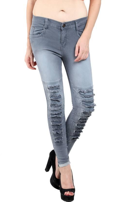 Nifty Slim Women S Grey Jeans