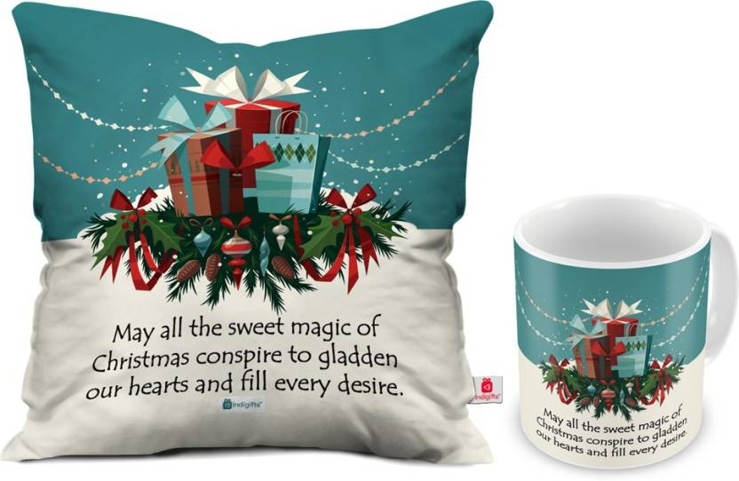 indigifts 0d 0cm001 0xms y15 d015 cushion mug gift set